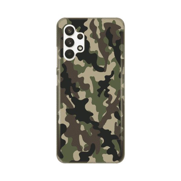 Torbica Silikonska Print Skin za Samsung A325F Galaxy A32 4G Army SMB
