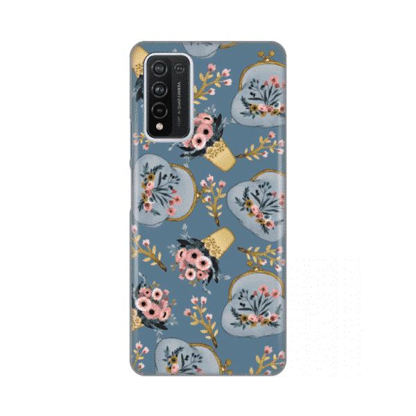Torbica Silikonska Print za Huawei Honor 10X Lite Retro Blue